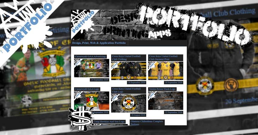 New Portfolio Page banner image