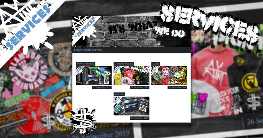 New Services Page banner image