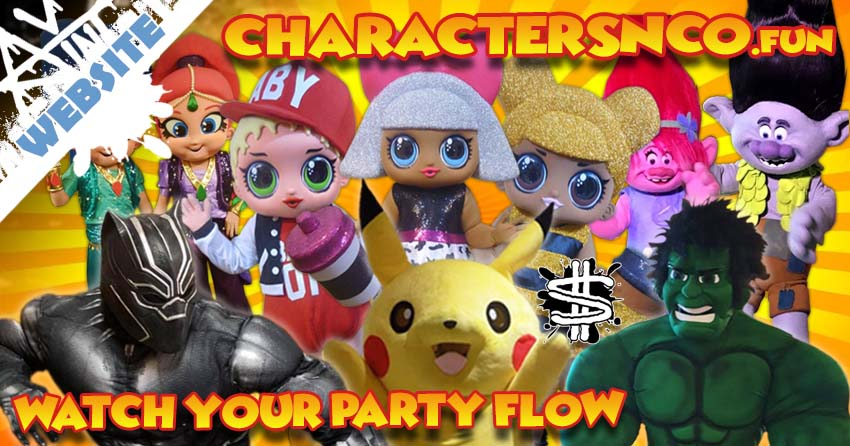 Characters N Co Website banner image