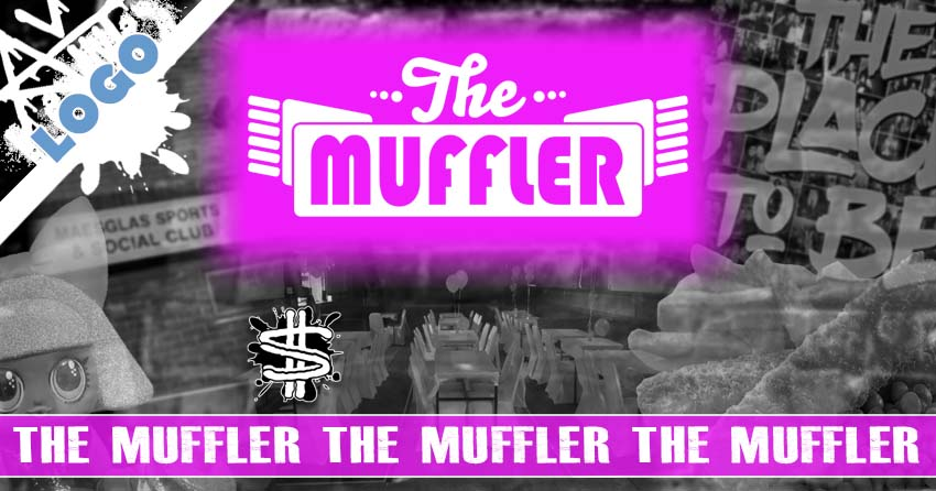 The Muffler Logo and Branding banner image