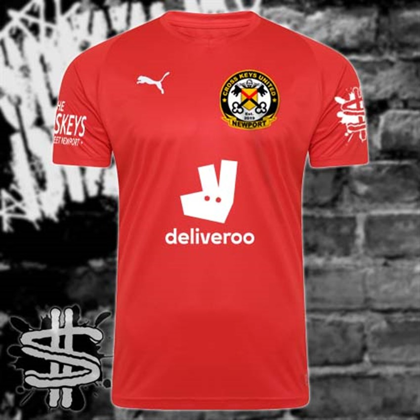 Cross Keys United Away Strip Portfolio Article Image