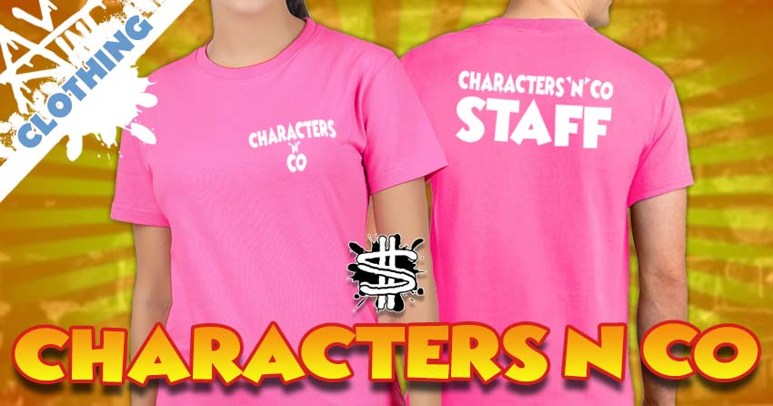Characters N Co Staff Clothing banner image