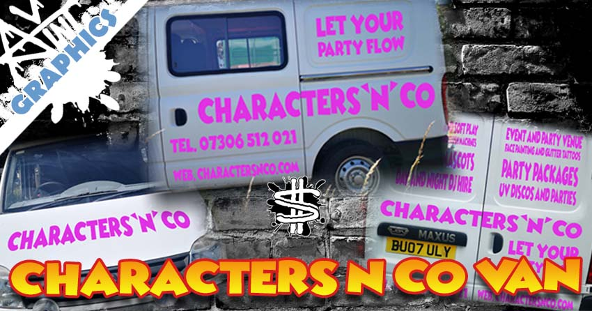 Characters N Co Vehicle Graphics banner image