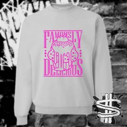Spizzle Dizzle Famously Delicious Gooey Cupcake Sweatshirt Clothing