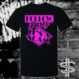 Spizzle Dizzle TikTok Follow Party Scam T-Shirt Clothing
