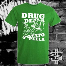 Spizzle Dizzle TikTok Drug Deala Potato Peela T-Shirt Clothing