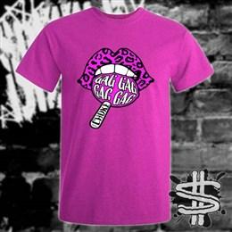 Spizzle Dizzle TikTok Gag Choke T-Shirt Clothing