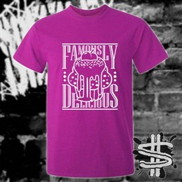 Spizzle Dizzle Famously Delicious Gooey Cupcake T-Shirt Clothing