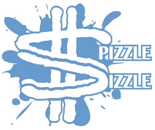 The Spizzle Dizzle logo